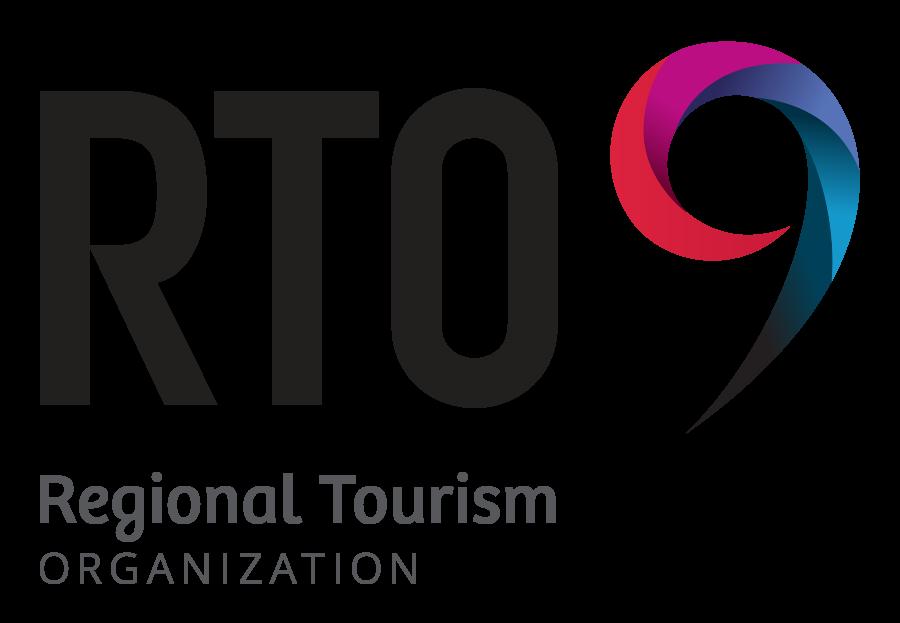RTO9 - Regional Tourism Organization logo